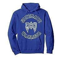 Ultimate Warrior Mask 1 Color Shirts Hoodie Royal Blue