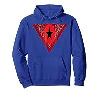 Black Star Bandit T Shirt Hip Hop Starz T Shirt Hoodie Royal Blue