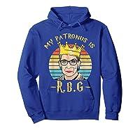 My Patronus Is Ruth Bader Ginsburg Shirt Notorious Rbg Gift Hoodie Royal Blue