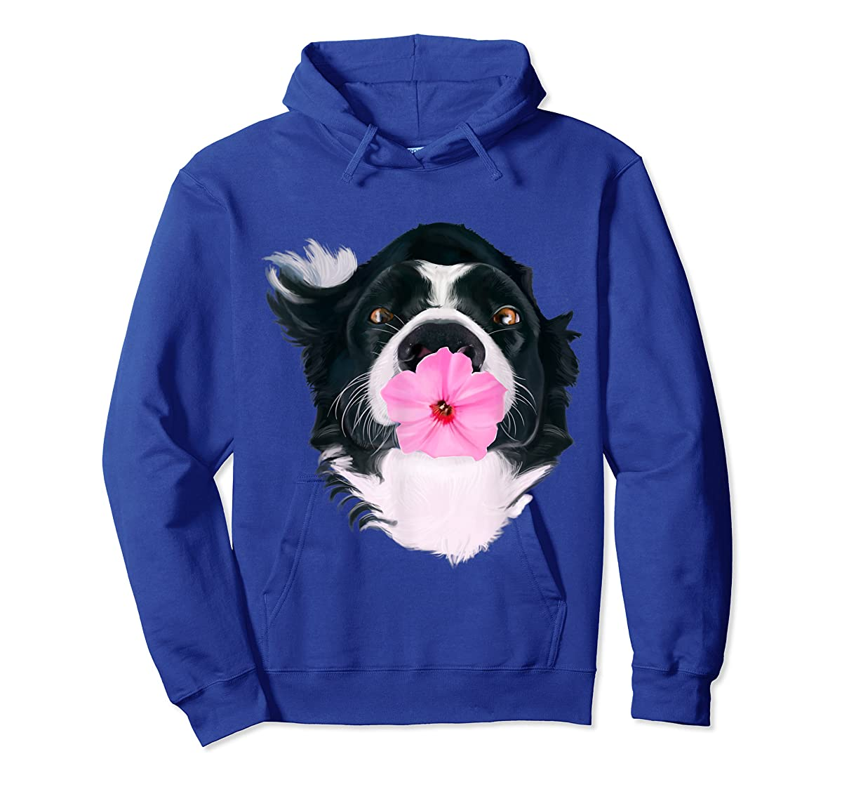 Border Collie Sweet Dog T-Shirt Dogs Tee Shirt Gifts-Hoodie-Royal
