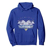 The Four Horse The Original Group T- Shirts Hoodie Royal Blue