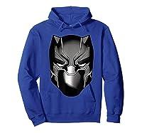 Black Panther Mask Shirts Hoodie Royal Blue