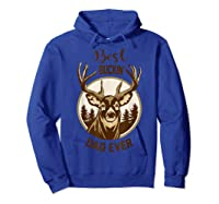 S Best Buckin' Dad Ever Vintage T-shirt Gift For Father Day T-shirt Hoodie Royal Blue