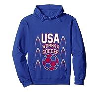 2019 Soccer Usa Team France Cup Tournat Shirts Hoodie Royal Blue