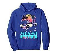 Miami Mice Shirts Hoodie Royal Blue