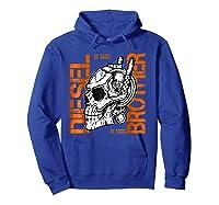 Diesel Power Truck Turbo Brothers Mechanic Shirts Hoodie Royal Blue
