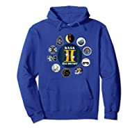 Project Gemini Missions Patch Badge Nasa Shirts Hoodie Royal Blue