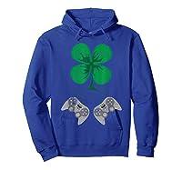 Video Game Gaming St Patricks Day Gamer For Shirts Hoodie Royal Blue