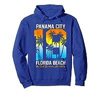Pa City Beach 2018 Florida T Shirt Beach Lovers Gift Hoodie Royal Blue