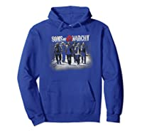 Sons Of Anarchy Rolling Deep T Shirt Hoodie Royal Blue