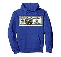 Trump Dollar Bill T-shirt Hoodie Royal Blue