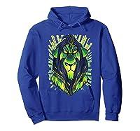 Lion King Evil Scar Graphic Shirts Hoodie Royal Blue