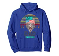 Funny Fathers Day Best Dad Ever Gorilla 4th Of July Premium T-shirt Hoodie Royal Blue