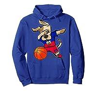 Dog Dabbing Haiti Basketball Haitian Sport Team Shirts Hoodie Royal Blue