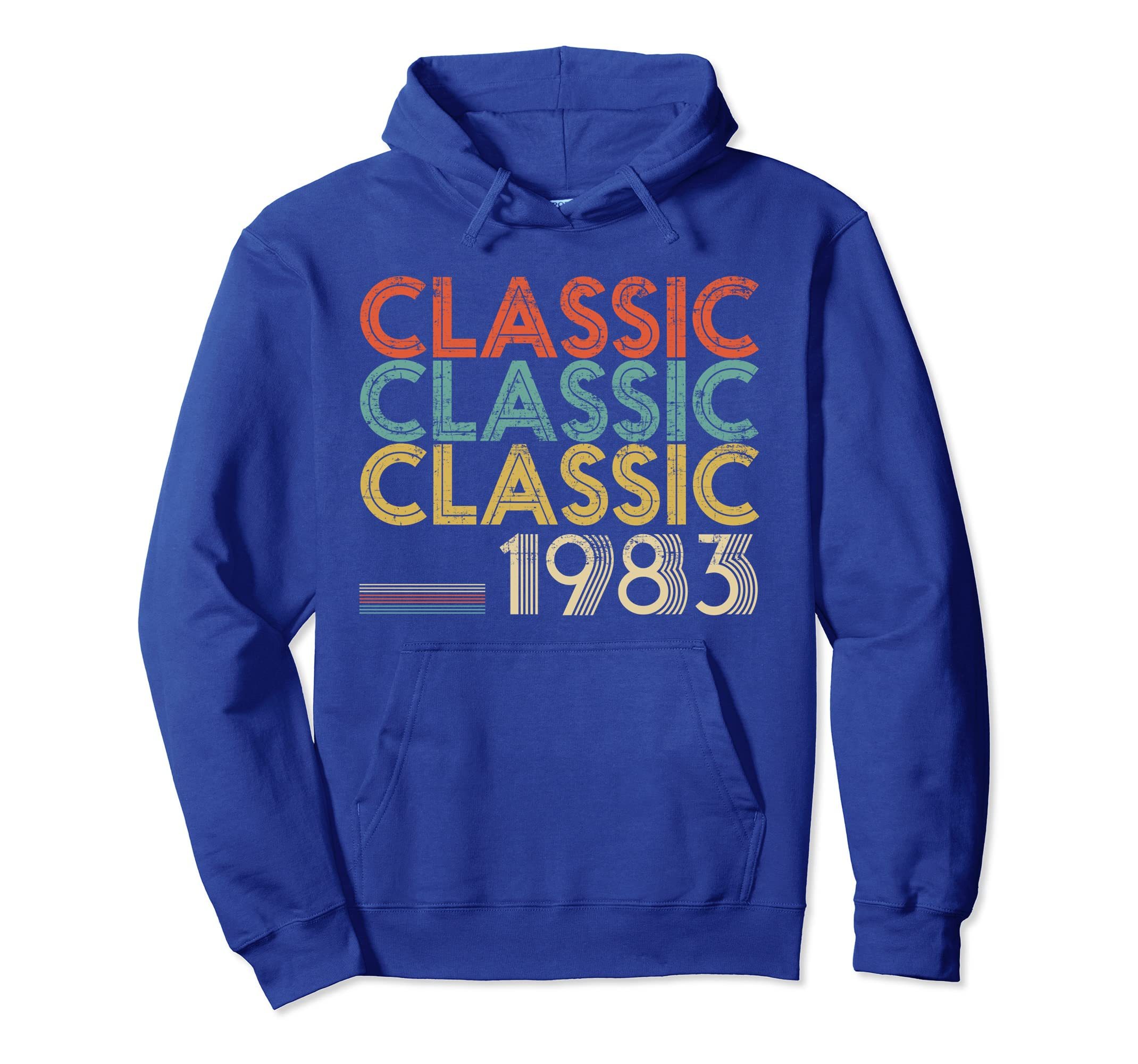 Legends Born In 1983 Awesome Classic 36 Years Old Hoodie-azvn