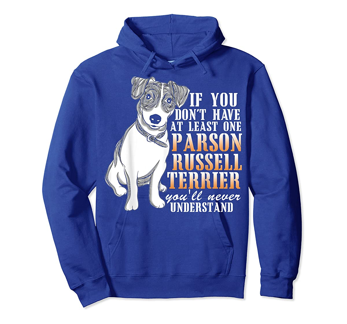Parson Russell Terrier T Shirt, I Love My Dog T Shirt-Hoodie-Royal