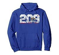 Area Code 209 Modesto California Shirts Hoodie Royal Blue