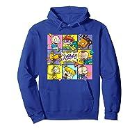 Rugrats Retro Box T-shirt Hoodie Royal Blue