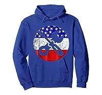 American Flag Car Mechanic Shirt - Screwdriver Wrench Shirt Hoodie Royal Blue
