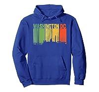 Washington Dc Shirt Vintage Washington Dc T Shirt Hoodie Royal Blue