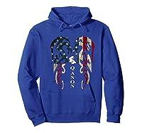 Qanon Rabbit Flag T Shirt Hoodie Royal Blue