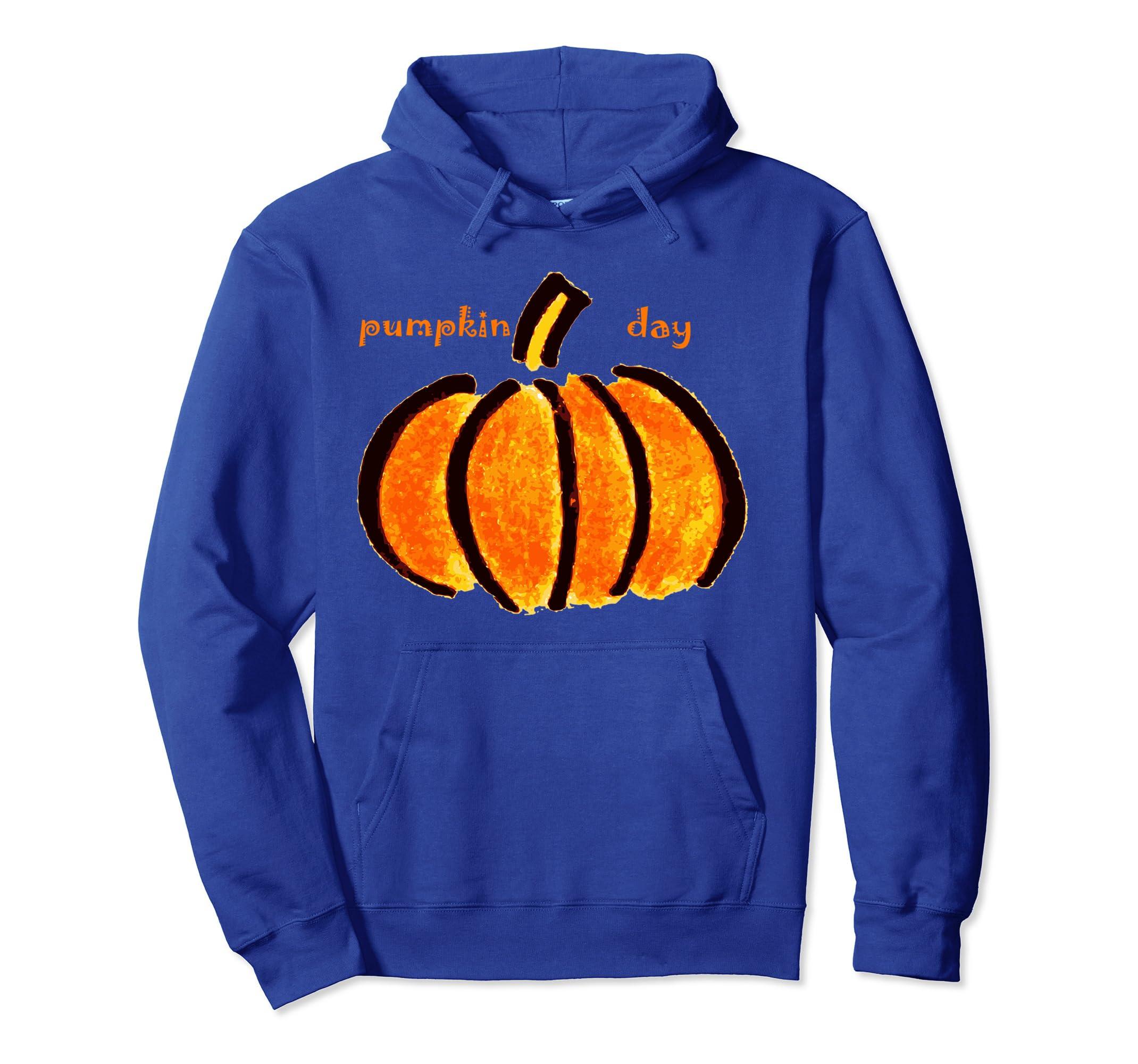 Pumpkin Autumn Halloween hoodie pullover men, women, kids- TPT