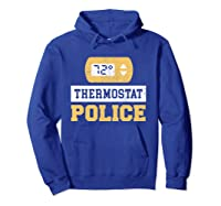 Thermostat Police T-shirt Hoodie Royal Blue