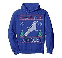 Oriole Christmas Shirts Hoodie Royal Blue