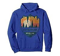 Mammoth Cave National Park Kentucky Emblem Shirts Hoodie Royal Blue