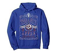 Snow Take A Bite Vintage Poster Shirts Hoodie Royal Blue