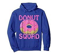 Pink Donut Squad Birthday Shirts Hoodie Royal Blue