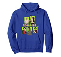 Disney Zombies Zomb5 T Shirt Hoodie Royal Blue