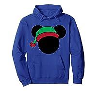 Disney Mickey Elf T Shirt Hoodie Royal Blue