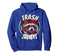 Raccoon Trash Bandit Funny Raccoon Trash Panda T Shirts Hoodie Royal Blue