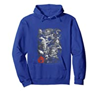 Sons Of Anarchy Group Fight Tank Top Shirts Hoodie Royal Blue