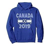 Retro Canada Soccer Team 2019 Shirts Hoodie Royal Blue