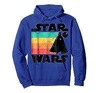 S Darth Vader Retro Stripes Baby Death Star Shirts Hoodie Royal Blue