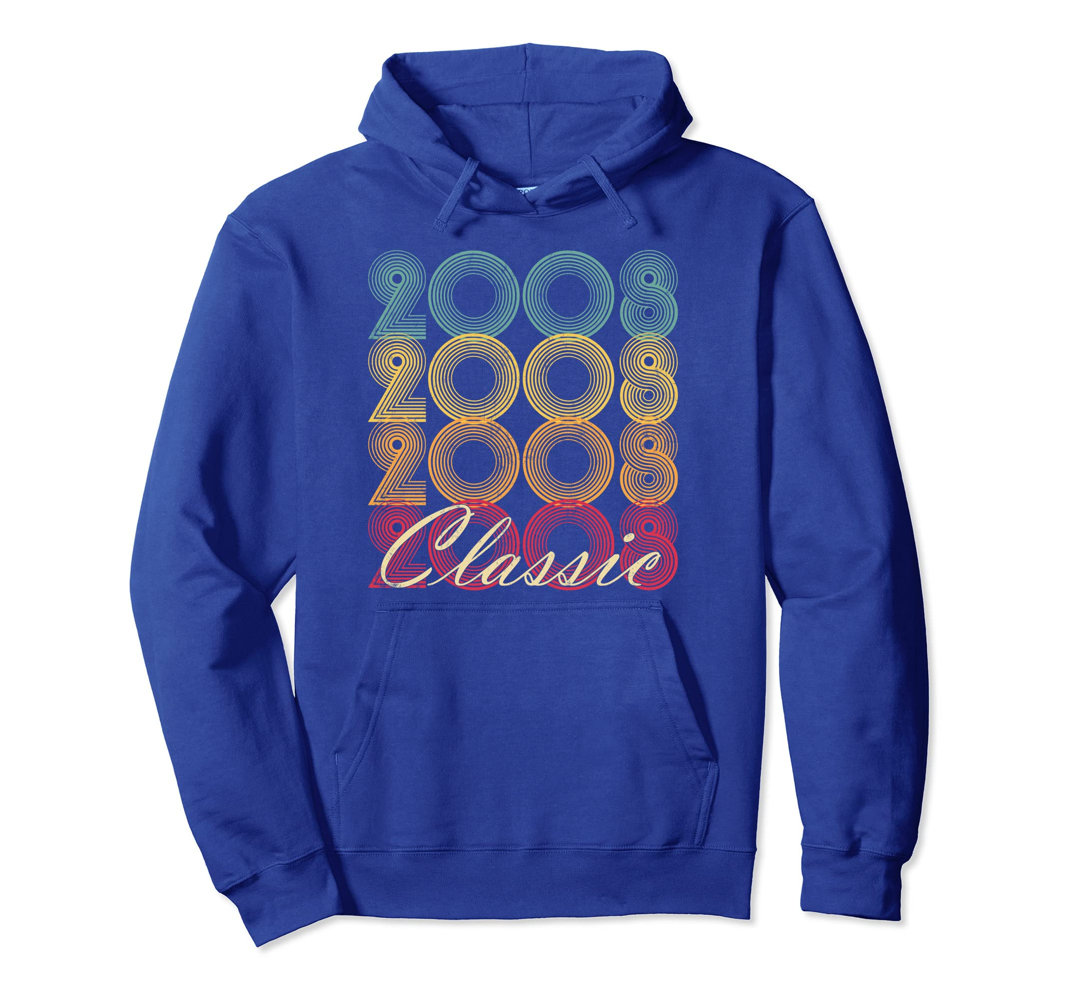 11th Birthday Gift Classic 2008 Hoodie 11 Years Old Vintage-azvn