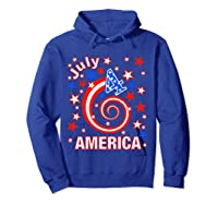 Festive 4th Of July, Independence Day Design Shirts Hoodie Royal Blue