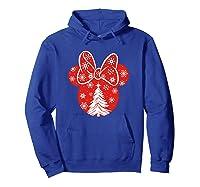 Disney Minnie Tree T Shirt Hoodie Royal Blue