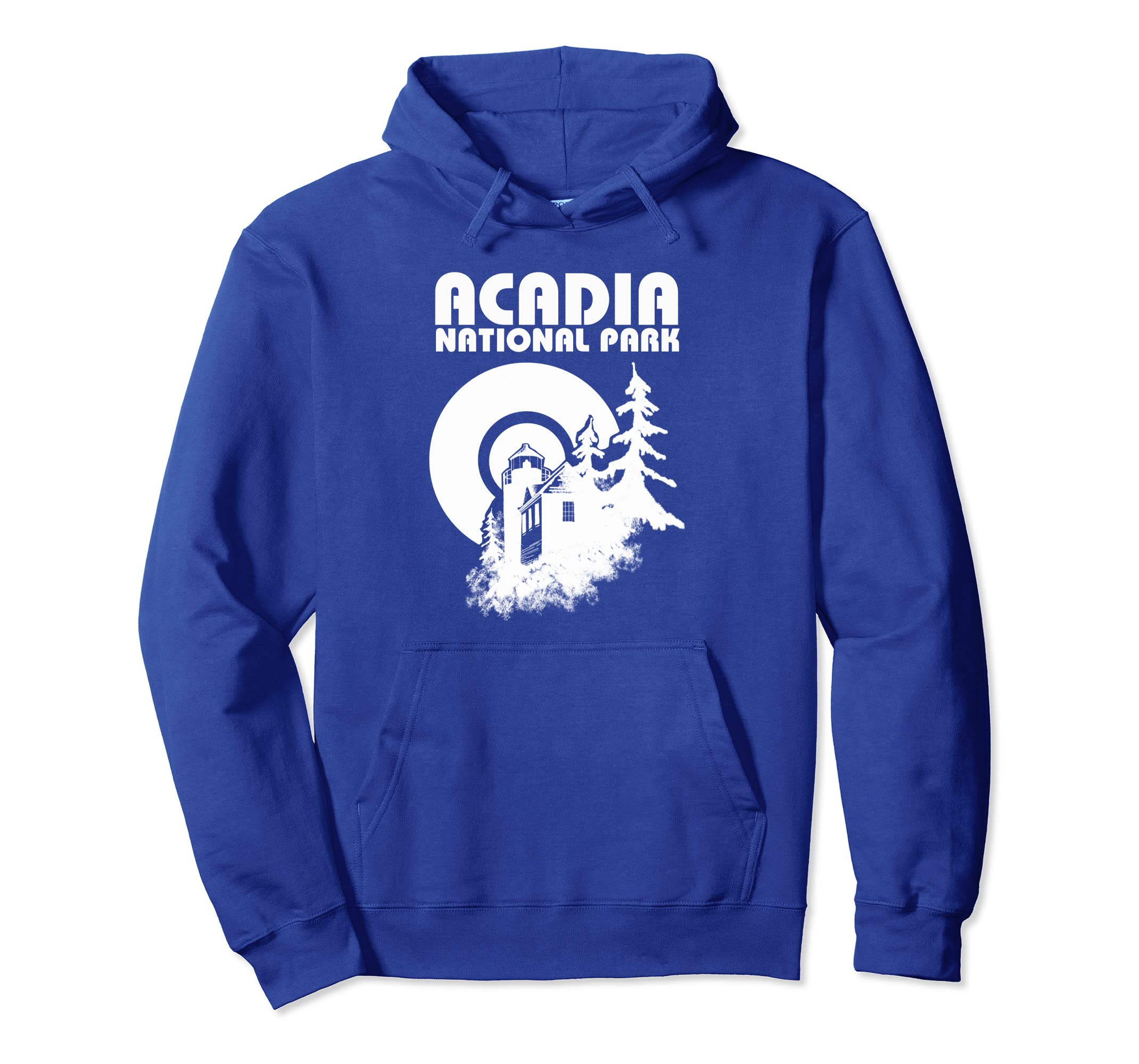 National Parks Apparel Acadia Park Lighthouse Hoodie-SFL
