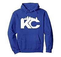 , K C Proud Shirts Hoodie Royal Blue