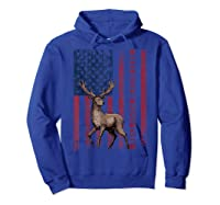 Best Buckin' Pappy Ever Us Flag Hunting Tshirt Fathers Gifts Hoodie Royal Blue