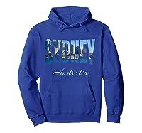 Sydney Australia Shirt Hoodie Royal Blue