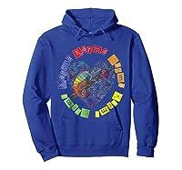 Chameleon Karma 80 S Pride 1980 S Pop Club Culture Peace Shirts Hoodie Royal Blue