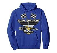 Car Racing Fanatic 500 Miles T Shirt Car Lover Gift Hoodie Royal Blue