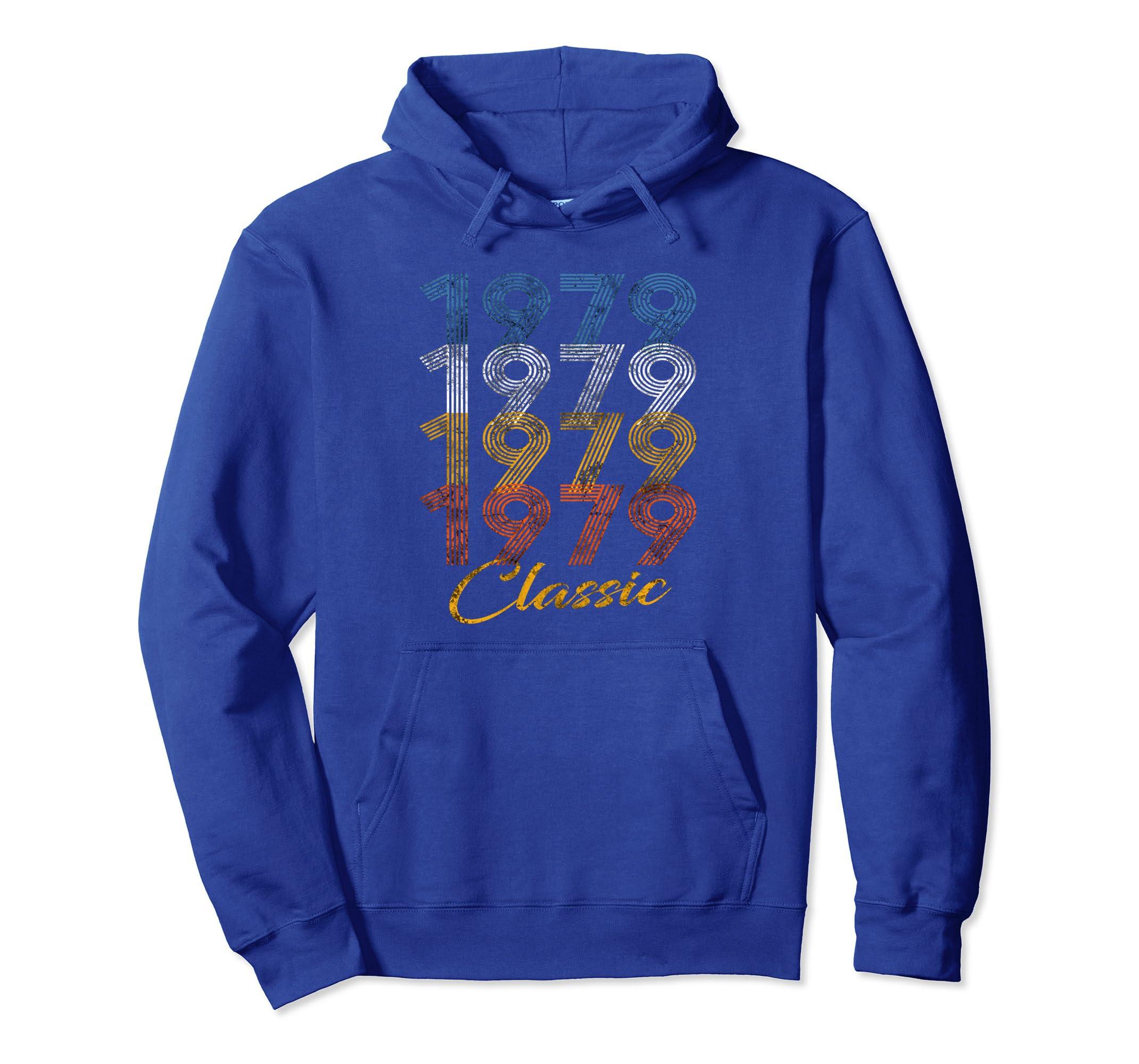 1979 Classic Vintage 40 Years 40th Birthday 70s Gift Hoodie-ln