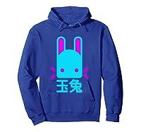 Jade Rabbit Japanese Shirts Hoodie Royal Blue