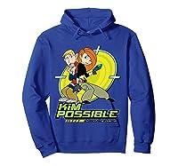 Disney Kim Possible T Shirt Hoodie Royal Blue