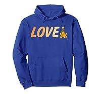 Disney Love Pluto T Shirt Hoodie Royal Blue